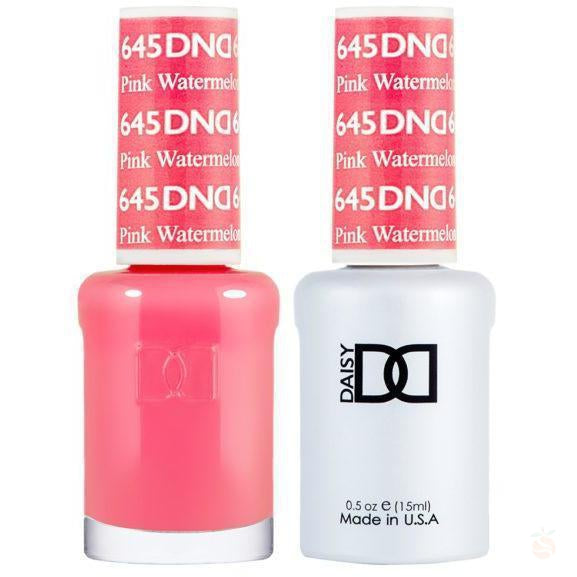 DND - Gel & Lacquer - Pinky Watermelon - #645-Orange Nail Supply