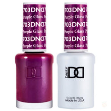Load image into Gallery viewer, DND - Gel & Lacquer - Purple Glass - #703-Orange Nail Supply