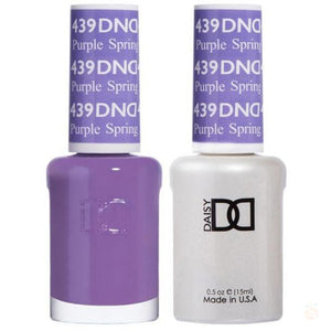 DND - Gel & Lacquer - Purple Spring - #439-Orange Nail Supply