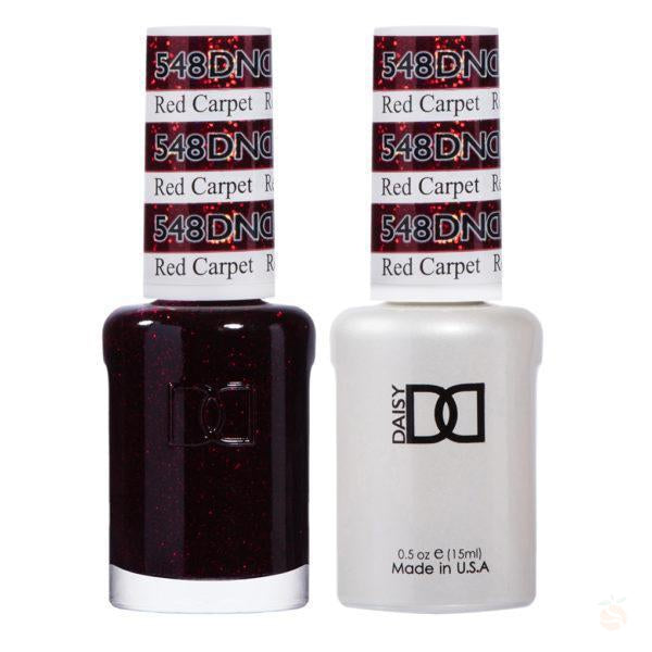 DND - Gel & Lacquer - Red Carpet - #548-Orange Nail Supply