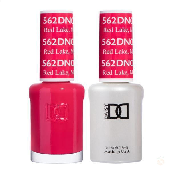 DND - Gel & Lacquer - Red Lake, MN - #562-Orange Nail Supply