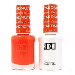 DND - Gel & Lacquer - Russet Orange - #760-Orange Nail Supply
