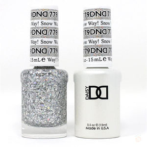 DND - Gel & Lacquer - Snow Way! - #779-Orange Nail Supply