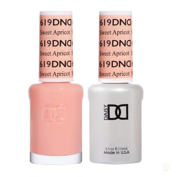 DND - Gel & Lacquer - Sweet Apricot - #619-Orange Nail Supply