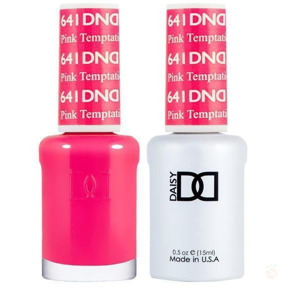 DND - Gel & Lacquer - Pink Temptation - #641-Orange Nail Supply