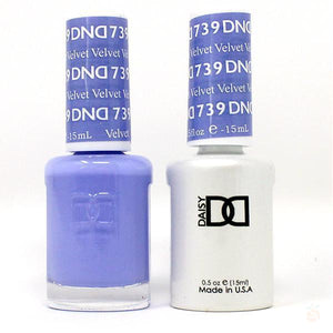DND - Gel & Lacquer - Velvet - #739-Orange Nail Supply