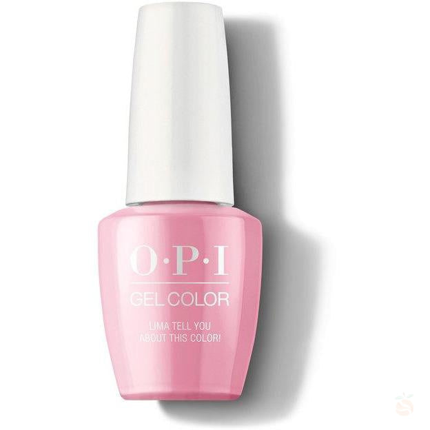 OPI GelColor - Lima Tell You About This Color!-Orange Nail Supply