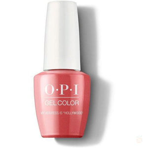"OPI GelColor - My Address Is ""Hollywood""-Orange Nail Supply"