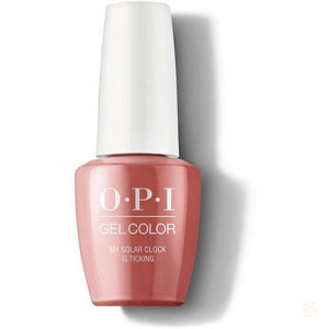 OPI GelColor - My Solar Clock Is Ticking-Orange Nail Supply