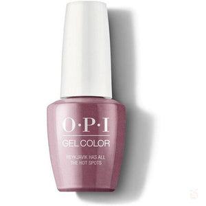 OPI GelColor - Reykjavik Has All The Hot Spots-Orange Nail Supply