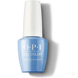 OPI GelColor - Rich Girls & Po-Boys-Orange Nail Supply