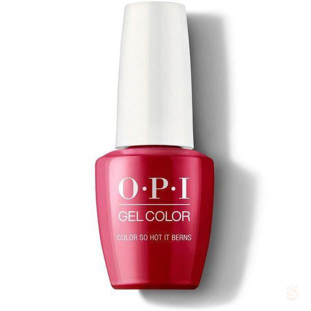 OPI GelColor - So Hot It Berns-Orange Nail Supply