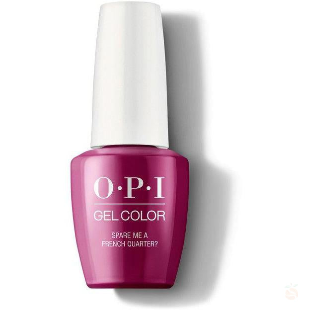 OPI GelColor - Spare Me A French Quarter-Orange Nail Supply