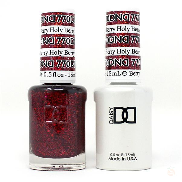 DND - Gel & Lacquer - Holy Berry - #770-Orange Nail Supply