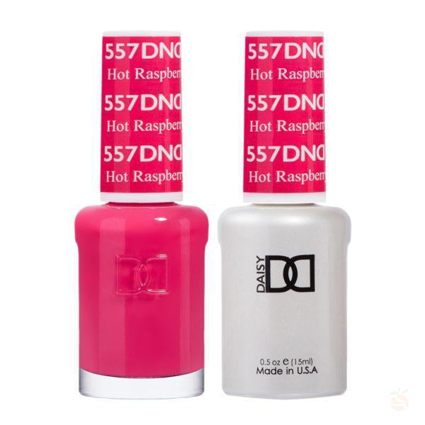 DND - Gel & Lacquer - Hot Raspberry - #557-Orange Nail Supply