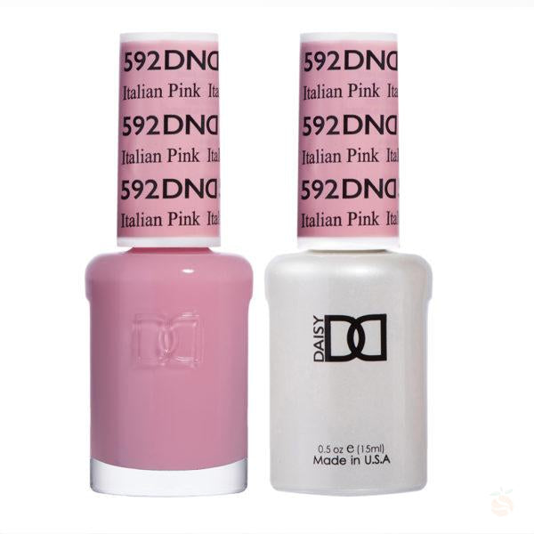 DND - Gel & Lacquer - Italian Pink - #592-Orange Nail Supply