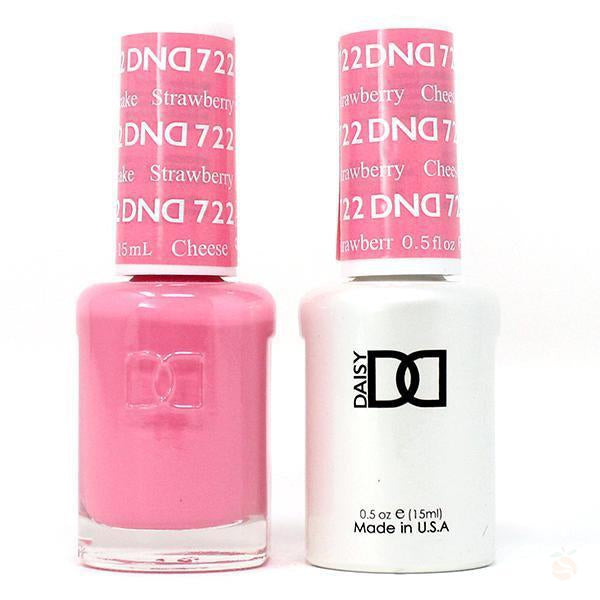 DND - Gel & Lacquer - Strawberry Cheesecake - #722-Orange Nail Supply
