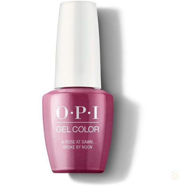 OPI GelColor - A Rose At Dawn... Broke By Noon-Orange Nail Supply