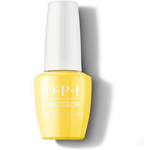 OPI GelColor - Exotic Birds Do Not Tweet-Orange Nail Supply