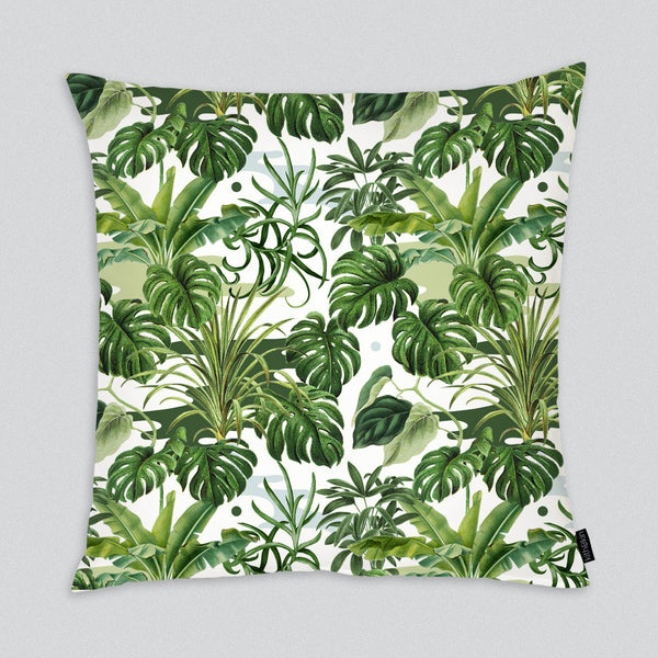 Leafy Monstera Cushion