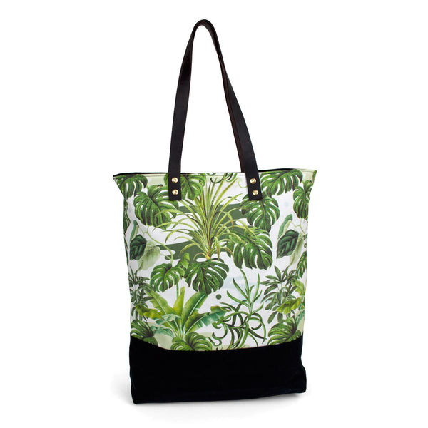 Leafy Monstera Kin Bag