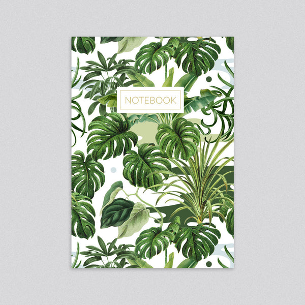 Leafy Monstera Notebook