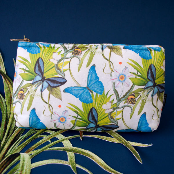 Grand Morpho Make Up Bag