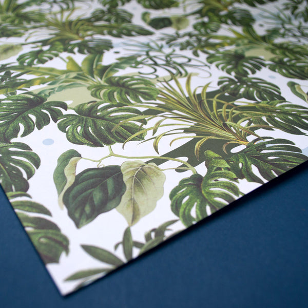 Leafy Monstera Wrapping Paper