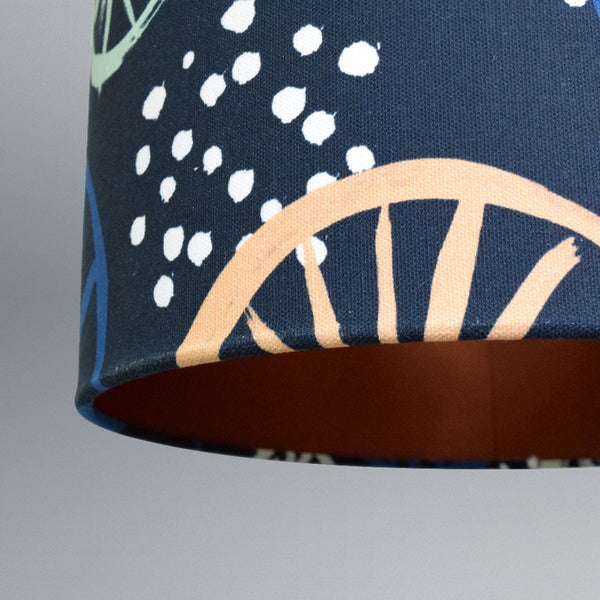Clustered Blue Lampshade 30cm