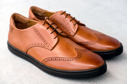 how to burnish your leather shoes