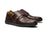 noblesole - The Windsor Monk Strap | Chocolate Brown