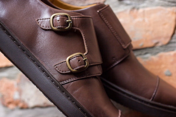 The Windsor Monk Strap | Chocolate Brown