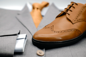 The Wingtip Sneaker | Vintage Tan