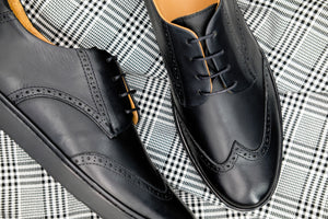 The Wingtip Sneaker | Classic Black