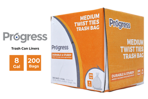 Progress Trash Bags – 8 Gallon