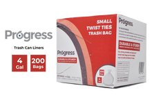 Load image into Gallery viewer, Progress Trash Bags – 4 Gallon