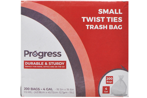 Progress Trash Bags – 4 Gallon