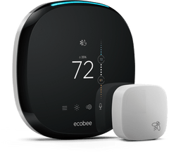 EdR Employee Exclusive - Ecobee4 Thermostat with Sensor, Amazon Alexa Built-in