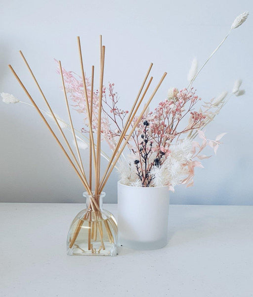 French Crystal Reed Diffuser Gift Set with Natural Reeds