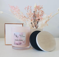 Extra Large Pink Forbidden Fantasy Coconut Soy Wax Scented Candle