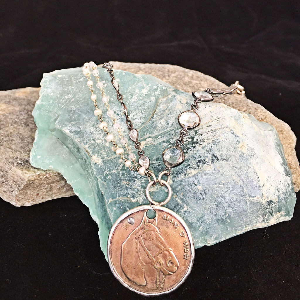 Man O'War Necklace