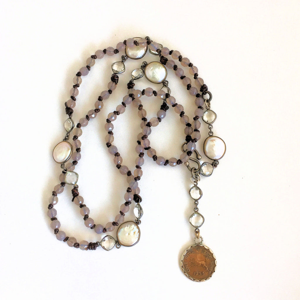 Indian Penny Necklace