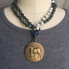 Draft Horse Necklace