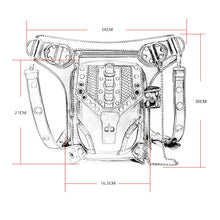 Load image into Gallery viewer, Outdoor Motorcycle Bike Drop Leg Bag|Thigh Waist Fanny Pack for Men Women
