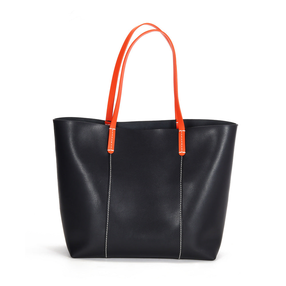 Luxury Handbags High-volume Tote Bag For Women Genuine Leather