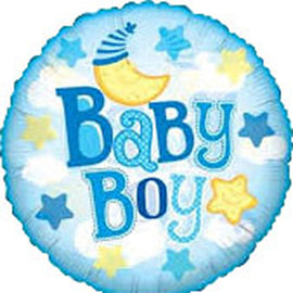 It's a Boy - Mylar Balloon