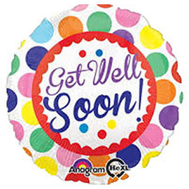 Get Well Soon- Mylar  Balloon