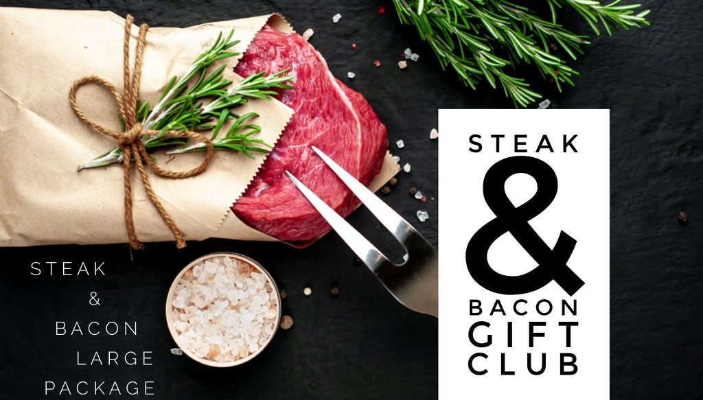 Steak & Bacon Gift Club - Large