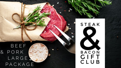 Beef & Pork Large - Steak & Bacon Gift Club