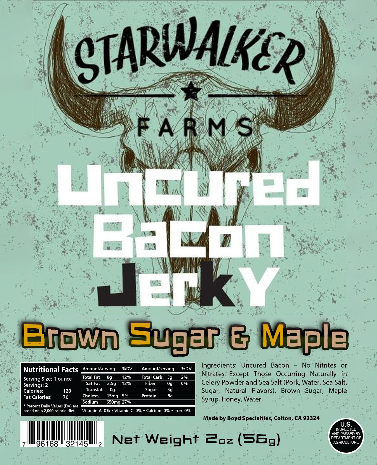 Brown Sugar & Maple BACON Jerky